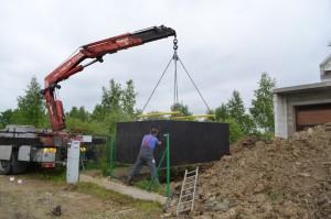 szamba betonowe osadzanie