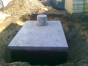 Zbiorniki betonowe na szamba
