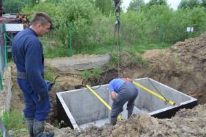 Montaż szamba betonowego Łódź