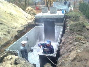 szambo betonowe w okolicach Gorzowa