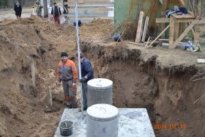 osadzanie szamba betonowego toruń