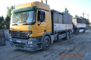 Transport zbiorników na gnojowicę