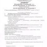 Deklaracja zbiorników na gnojówkę