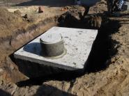 szamba betonowe inowrocław podczas montażu