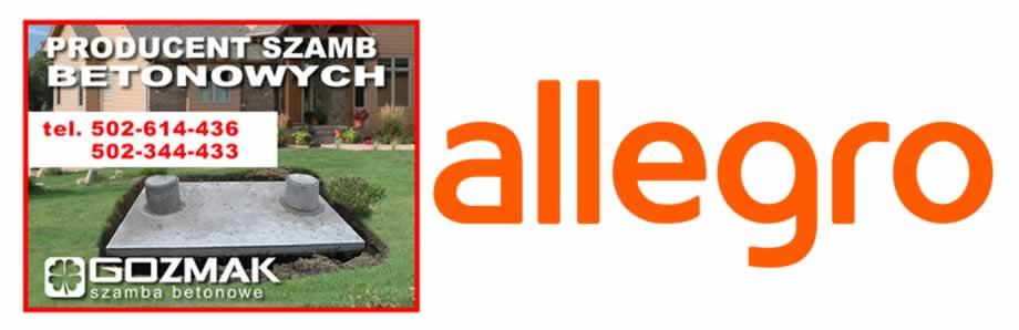 Szmba betonowe Allegro Gozmak